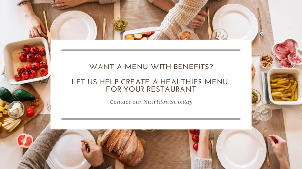 Healthy Menu Consulting Services | Menu with Benefits
